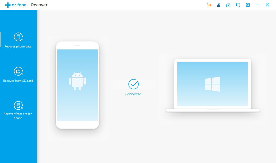 Android Device Connected