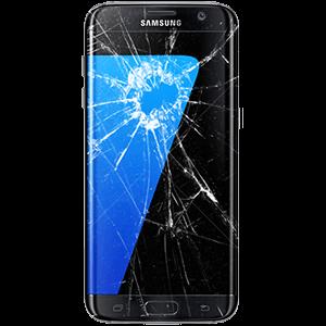 Buzilgan Samsung telefoni