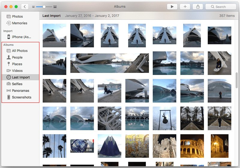 Upload Videos from iPhone to Mac