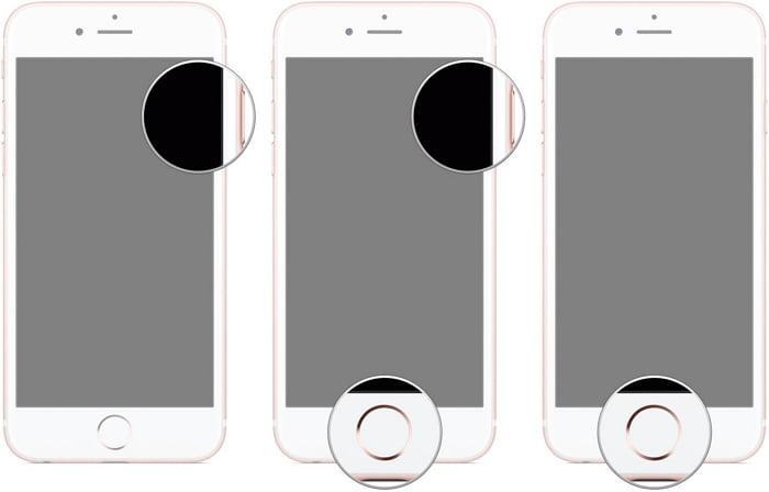 DFU modus ponitur in iPhone 6