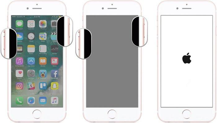 DFU modus ponitur in iPhone 8