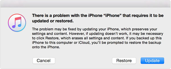 Restore iPhone Via Recovery Mode
