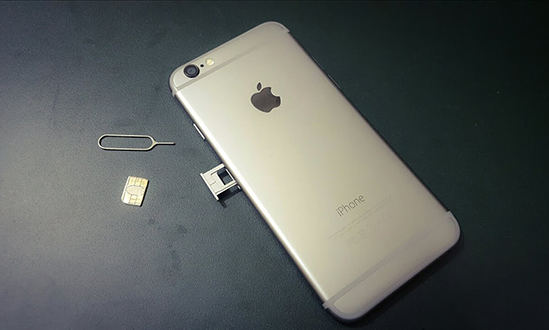 Take out SIM Card iPhone