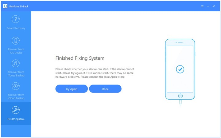 finish fixing system