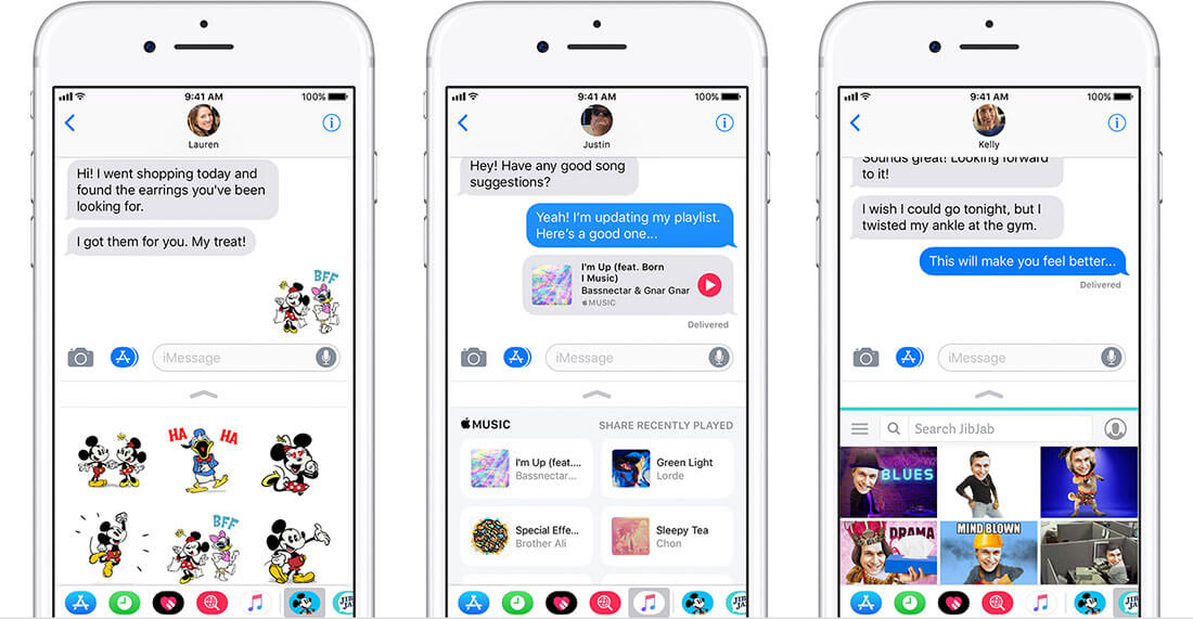 view imessage history