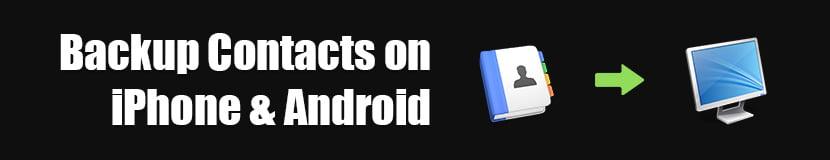 İPhone ve Android'de Yedekleme Kişileri
