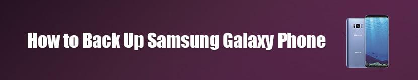 Backup Samsung Galaxy Phone