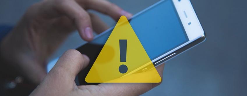 لا تستخدم هاتفك
