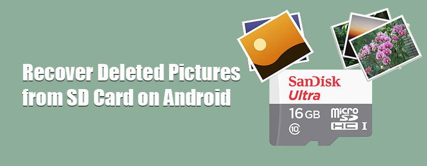 Gelöschte Bilder von der SD-Karte auf dem Android-Handy wiederherstellen