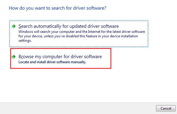 Sürücü yazılımı için bilgisayarımı tara