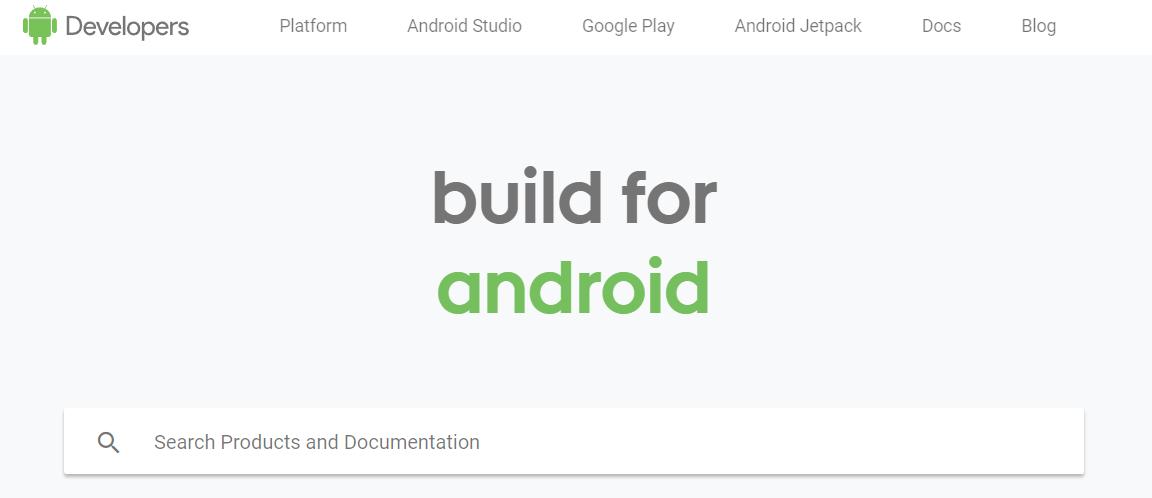 Google's developer website