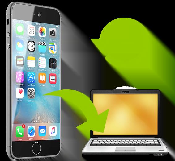 Backup de dados do iPhone para o computador