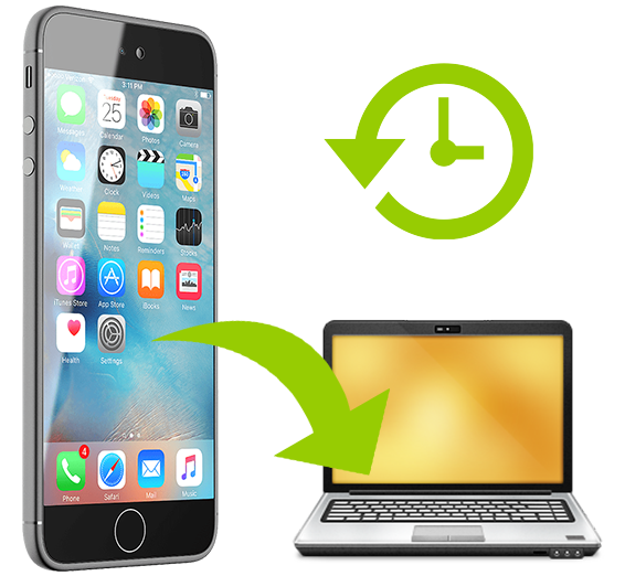 Backup iPhone Data a Computer