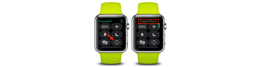 Ping og find din tabte iPhone ved hjælp af din Apple Watch