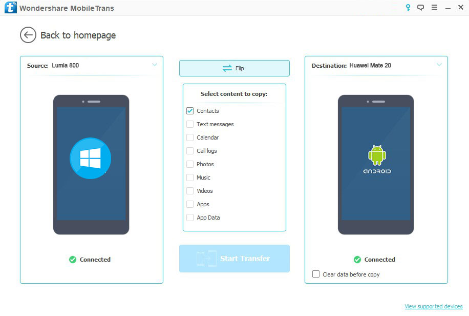 Kontaktlarni Windows Phone-dan Android-ga eksport qiling