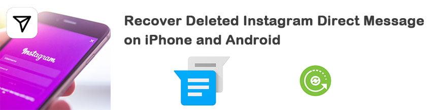 Wiederherstellen gelöschte instagram nachrichten [iPhone] Gelöschte