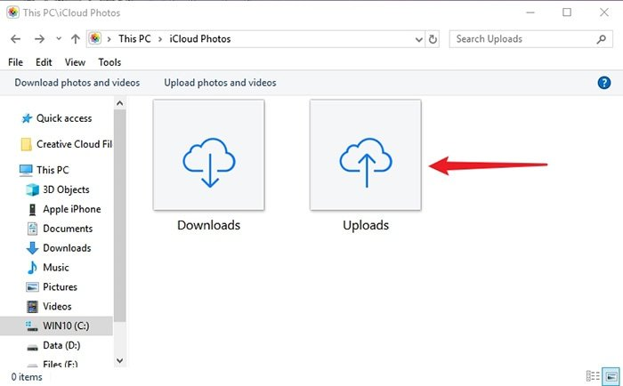 Upload Photos from PC to iPhone via iCloud