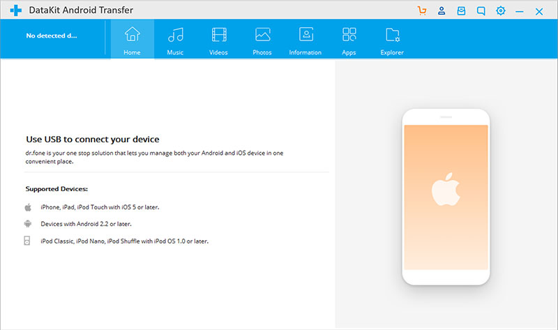 DataKit Android Transfer for Mac 9.0.1