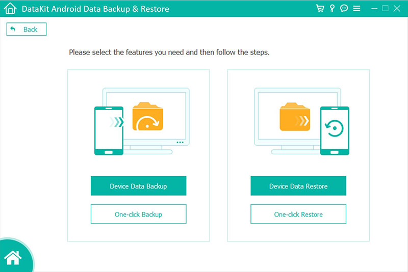 DataKit Mac Android Data Backup Restore full screenshot