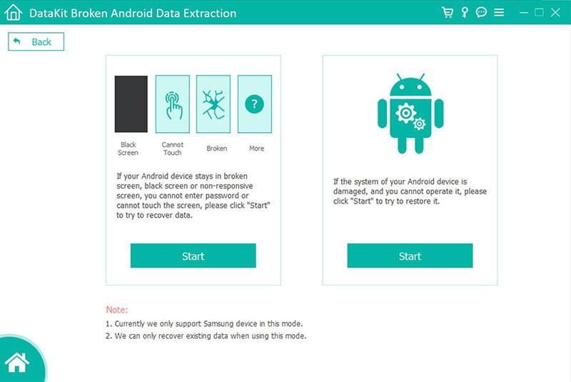 DataKit Broken Android Data Extraction 3.0.18