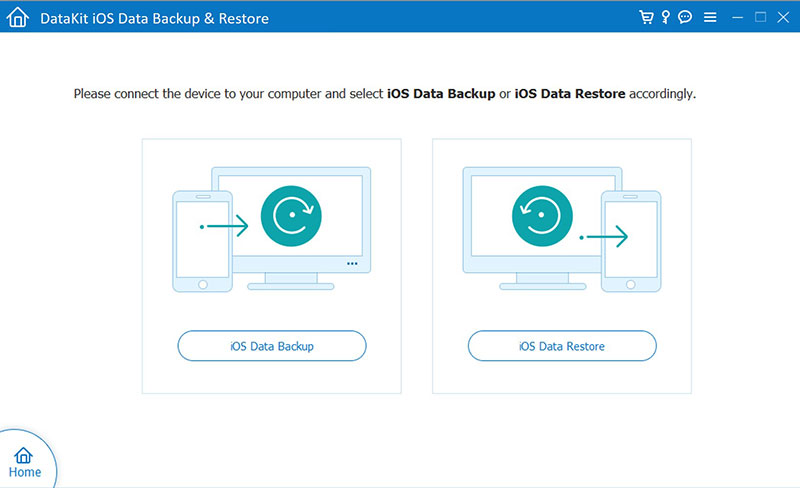 DataKit iOS Data Backup Restore full screenshot