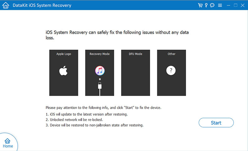 DataKit Mac iOS System Recovery 9.1.2