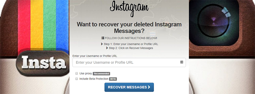 Instagram DMS Recovery Online