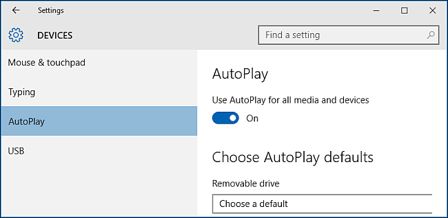 Open AutoPlay on Windows to Transfer Videos from iPhone to PC
