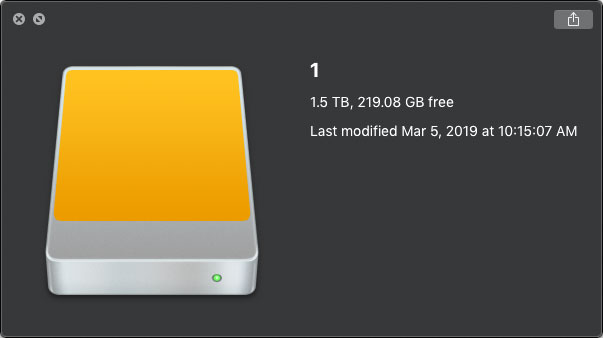 Recover Data from Mac External Hard Disk Drive