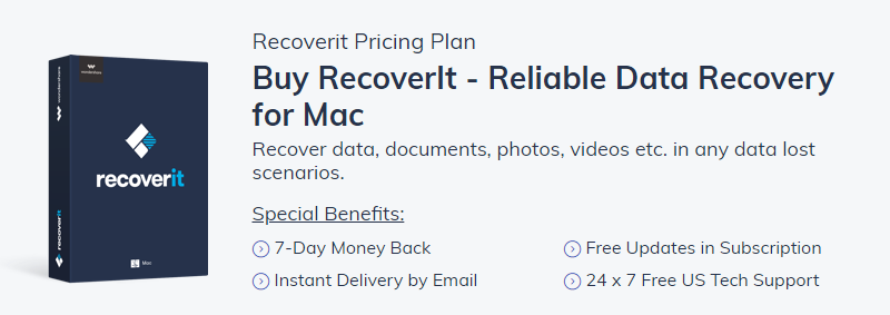 Recover deleted folder with Recoverit