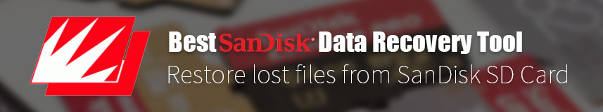 SanDisk SD Card Data Recovery