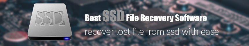 SSD File Recovery Software Windows and Mac