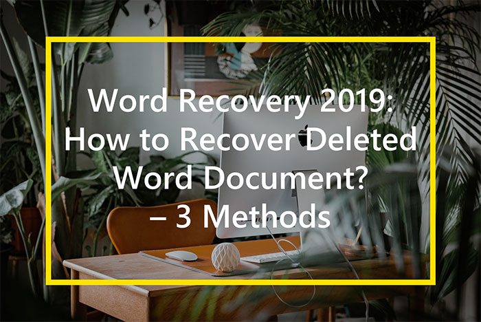 how to recover deleted word document