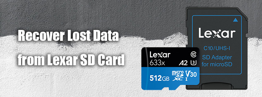Recover Data from Lexar SD Card