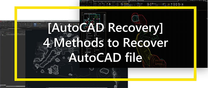 recover autocad file