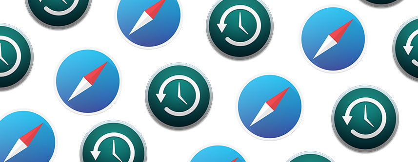 Recover Deleted Safari History on Mac with Time Machine