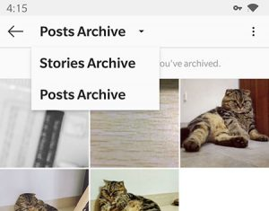 select posts archive