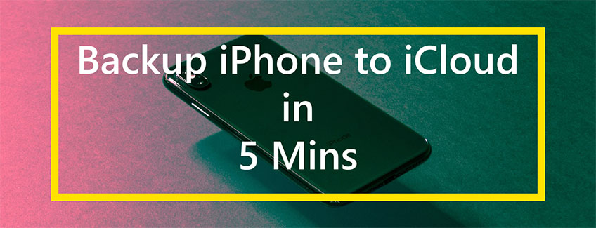 How long does it take to backup iPhone to iCloud