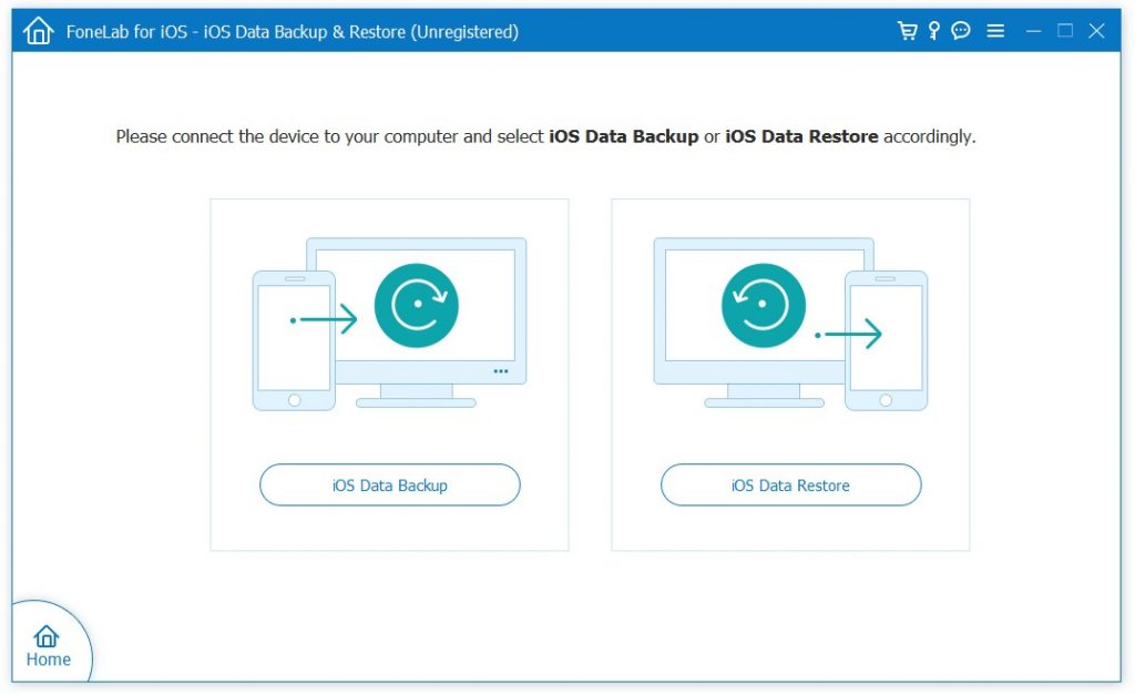 FoneLab iOS Data Backup Restore