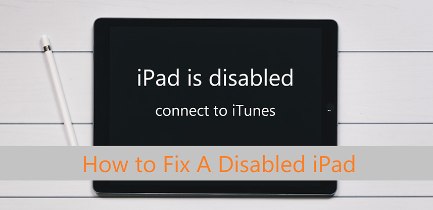 Fix Disabled iPad
