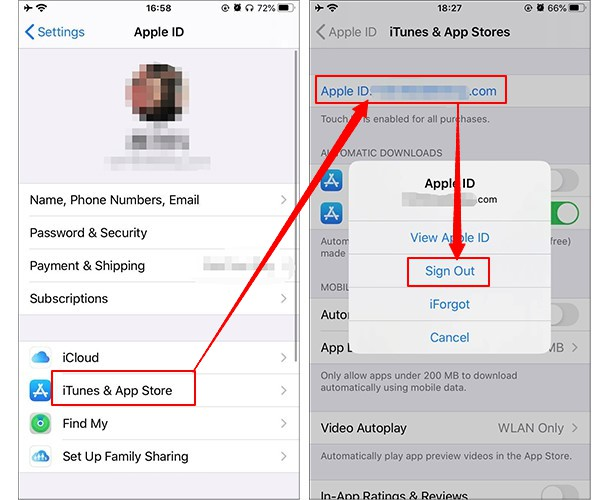 Get Rid of Someone Else's Apple ID on App Store