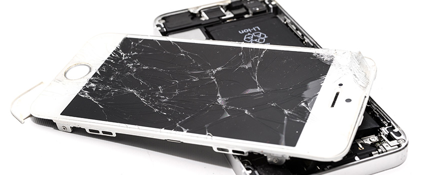 Стереть iPhone с разбитым экраном