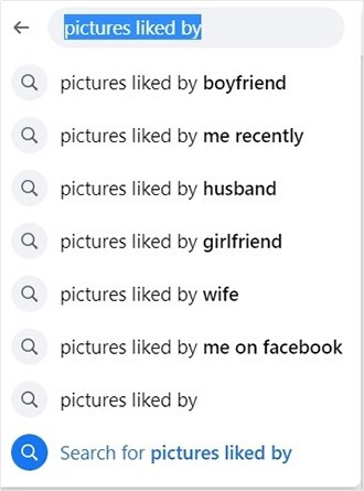 Facebook on liked photos someone by Do Facebook