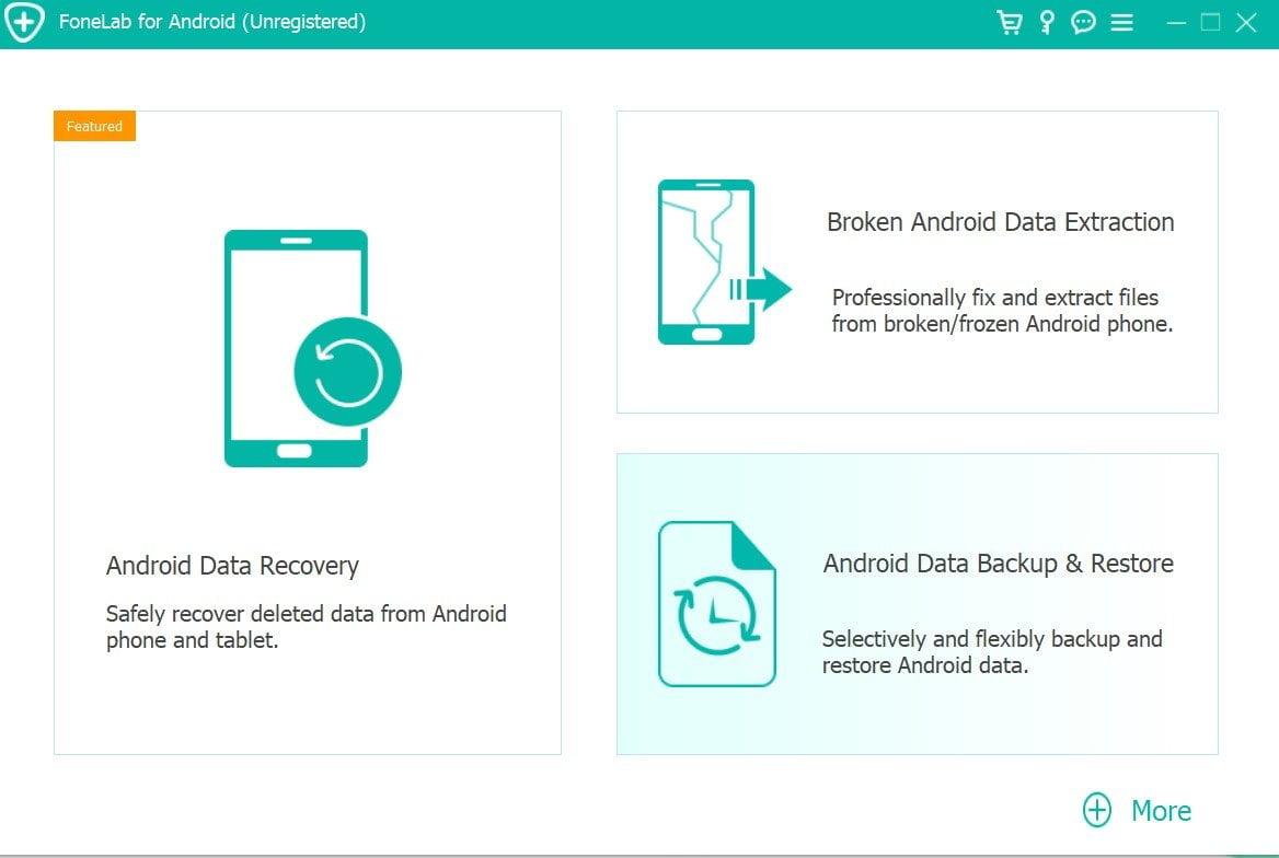 Zálohování a obnovení systému Android