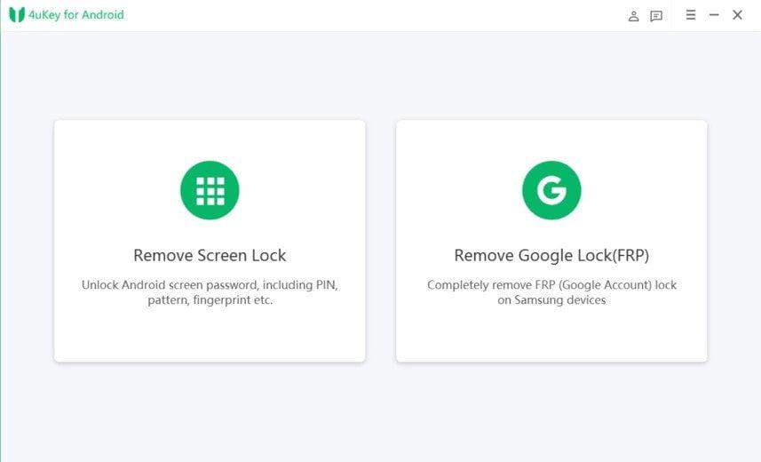4ukey Pro Android Odemkněte Samsung Broken Screen